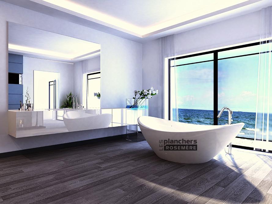 Peindre plafond salle de bain peinture salle de bain - Peindre sur carrelage salle de bain ...